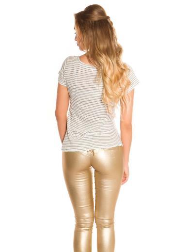 KOUCLA T-shirt glitterata 0000M-5976N