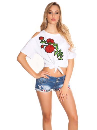 KOUCLA T-shirt spalle scoperte 0000TB2001
