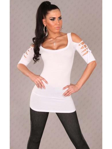 KOUCLA T-shirt intreccio A00126