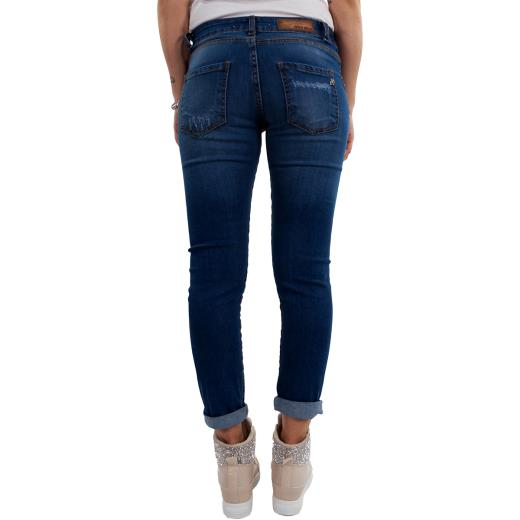 MISS MISS BY VALENTINA Pantalone jeans destroyed A00395
