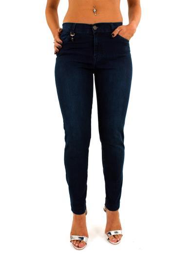 EMANUELA COSTA Jeans vita alta A00581