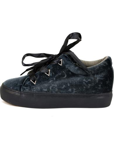 SWEET SHOES Sneakers in velluto A00634