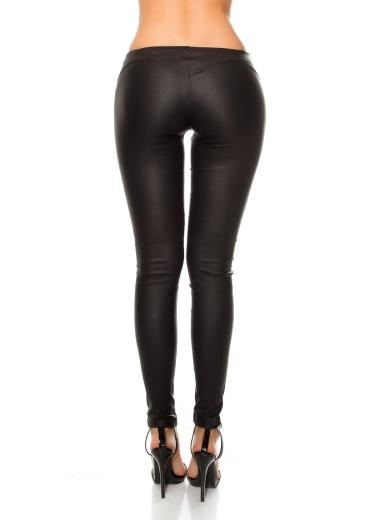 KOUCLA Pantaloni ecopelle A00838