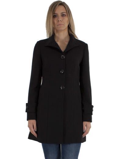 C.M.A. COLLECTION Cappotto nero donna A00939