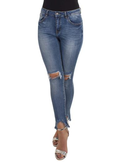 FARFALLINA Jeans destroyed skinny A01105