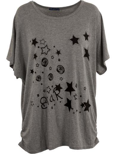 STRABELLO T-shirt stelle A01117