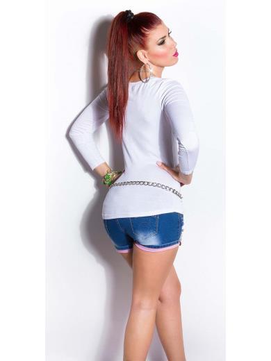 KOUCLA T-shirt serafino A01162