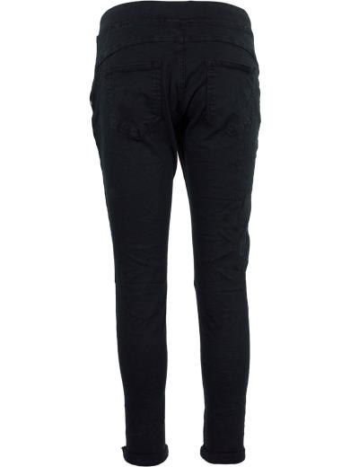 HAND WORK DENIM Pantalone sportivo in cotone A01285