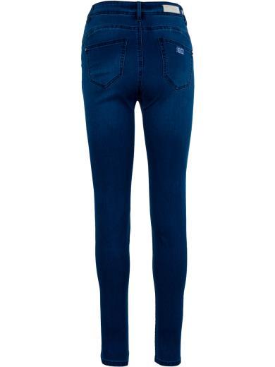 EMANUELA COSTA Jeans vita alta A01324