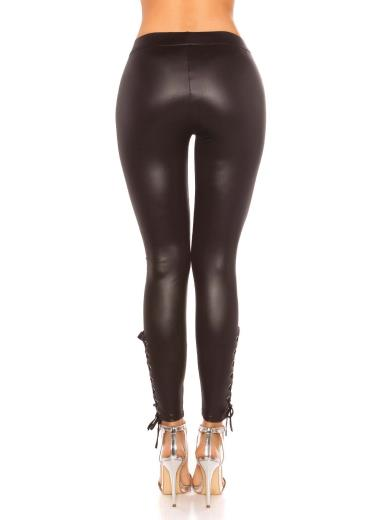 KOUCLA Leggings effetto bagnato A01332