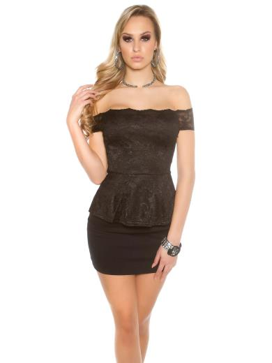KOUCLA Sexy top in pizzo A01363