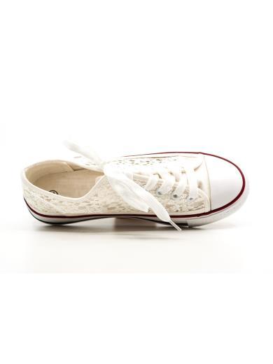STRABELLO Sneakears in pizzo A01426
