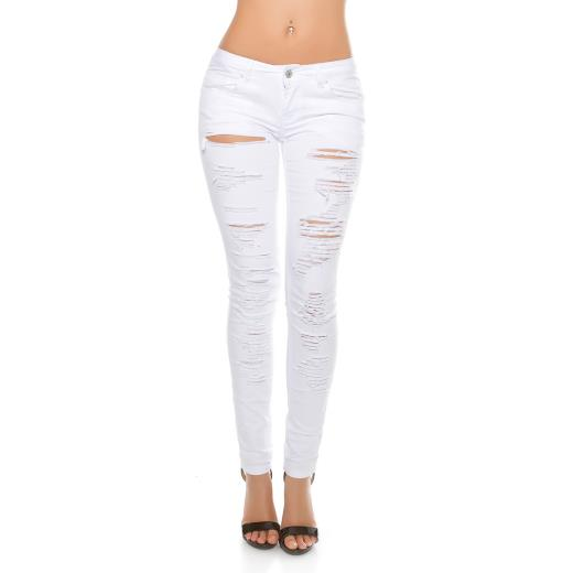 KOUCLA Jeans skinny destroyed A00239
