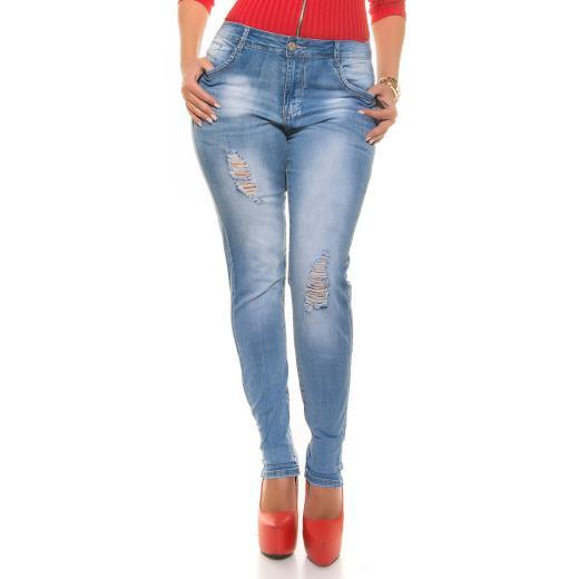 KOUCLA Jeans curvy A00244
