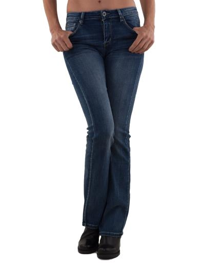HAND WORK DENIM Jeans a zampa regular elasticizzato 3D-6668