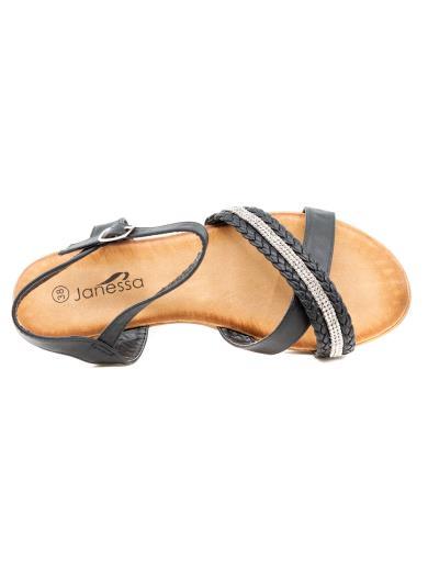 JANESSA Sandalo con strass CK157