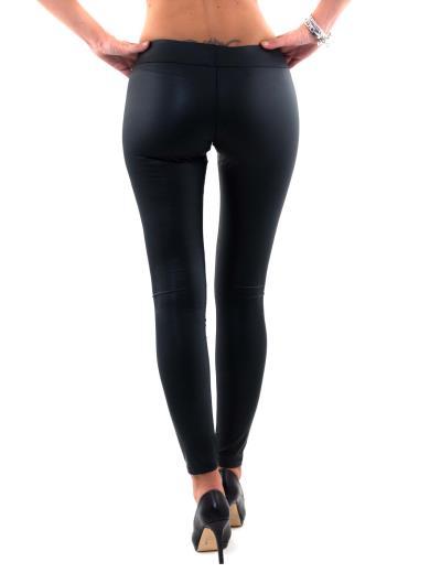 MADE IN ITALY Pantaloni leggings ecopelle P3012T5