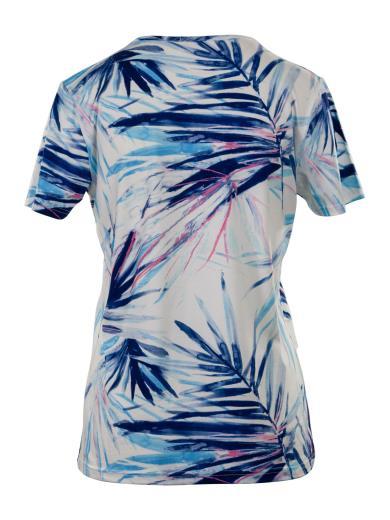 PERLARARA T-shirt fantasia manica cortaV604