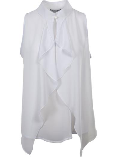 MADE IN ITALY Blusa smanicata T1140T3