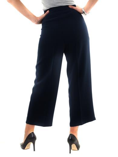Pantaloni a palazzo vita alta A01169