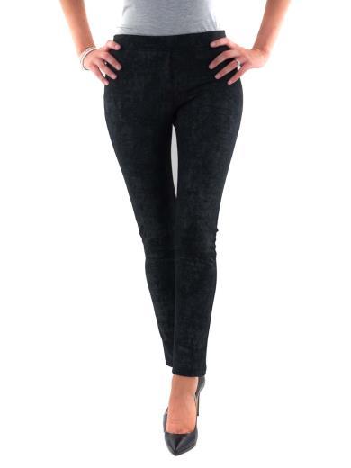 CARMEN UNICA Pantalone leggings elegante coccodrillo COCCO