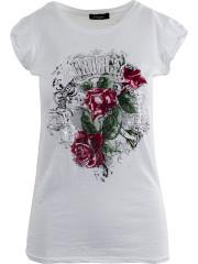 CARMEN UNICA T-shirt 100% cotone fiammato A01175