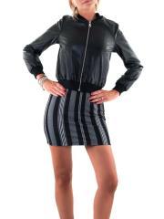 MISS MISS BY VALENTINA Giubbino ecopelle con zip CFC0039434004