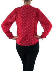 MISS MISS BY VALENTINA Camicia a pois con fiocco CFC0040507004
