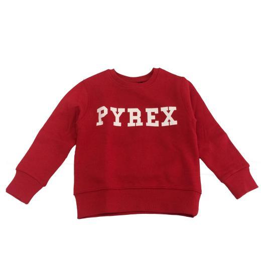 PYREX Felpa girocollo rossa bambino Pyrex