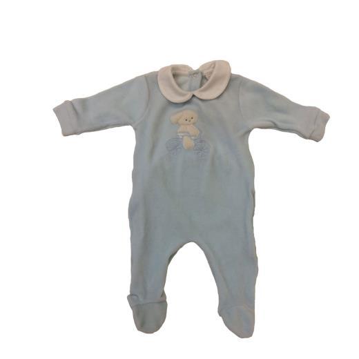COCCODÈ Tutina maniche lunghe in ciniglia neonato Coccodè