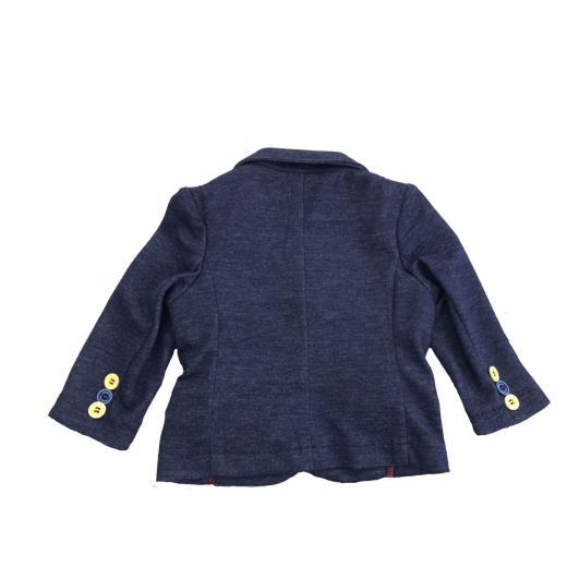 RONNIE KAY Giacca blu neonato modello casual Ronnie Kay