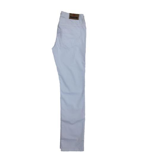 RONNIE KAY Pantalone 5 tasche bianco bambino Ronnie kay
