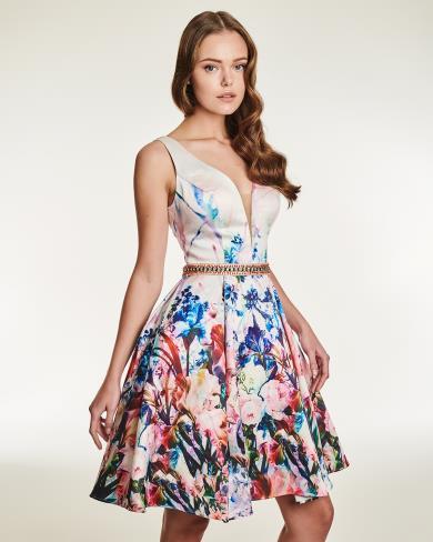 online retailer b2560 ab118 Mikael abito cerimonia elegante fantasia fiori disponile da ...