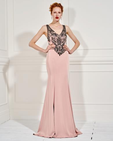4198ccad639e Mikael abito cerimonia elegante rosa sannybell.it paypal pagamento ...