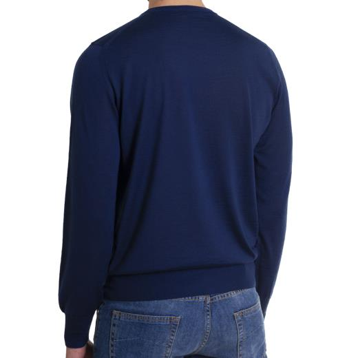 CASHMERE CREWNECK SOLID COLOUR SWEATER