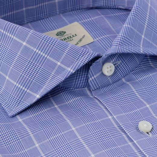 CAMICIA IN COTONE FANTASIA QUADRI
