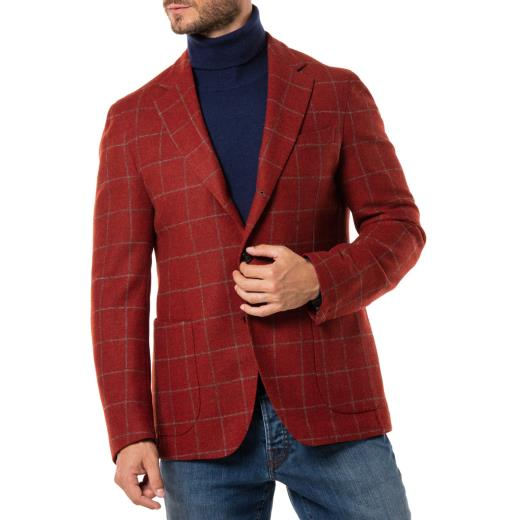 VIRGIN WOOL AND CASHMERE JACKET LV