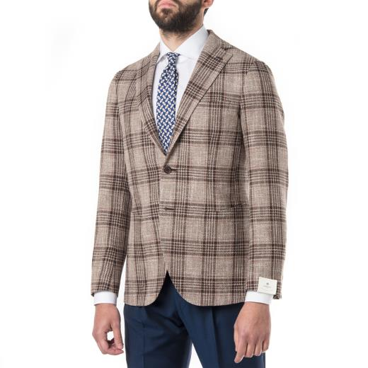 WOOL, LINEN AND SILK JACKET
