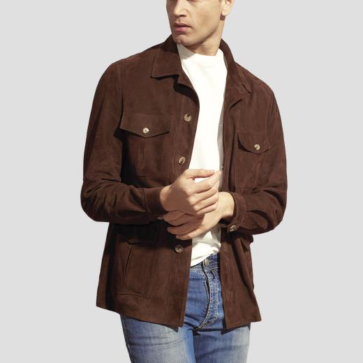 SUEDE BUSH JACKET