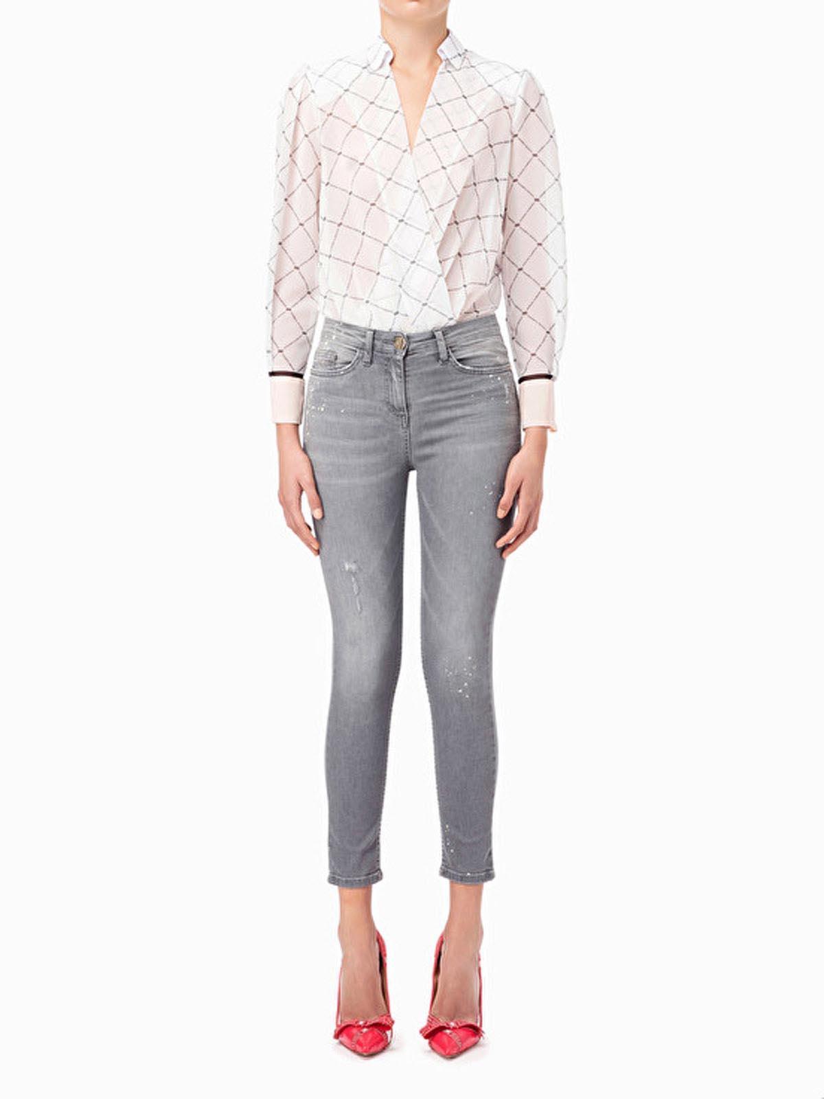 Elisabetta Franchi PJ01D91E2 Jeans Skinny 921a2c3aa97