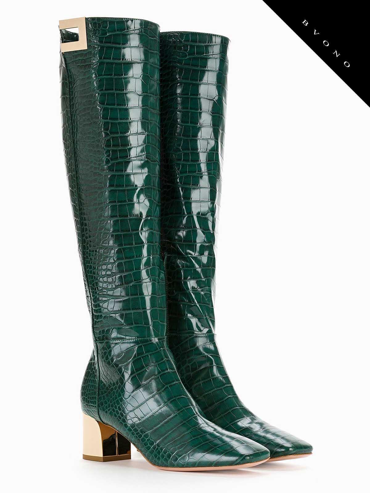 design senza tempo 238ca a14d1 stivali elisabetta franchi