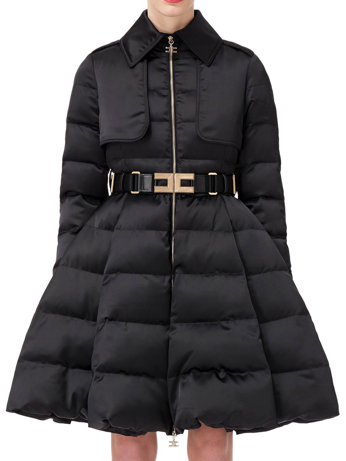Quilted With Coat Belt W6cx60uqr Pi16z86e2 Franchi Elisabetta wvS466