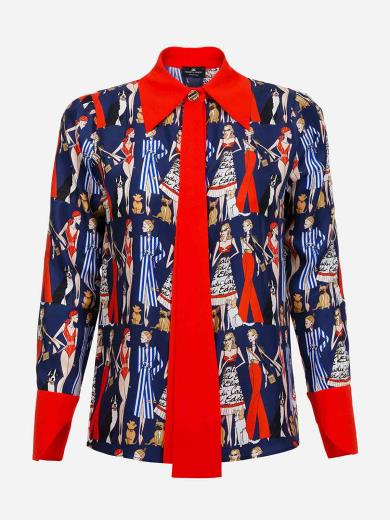 Zippy Blouse Twill Camicia Bambina