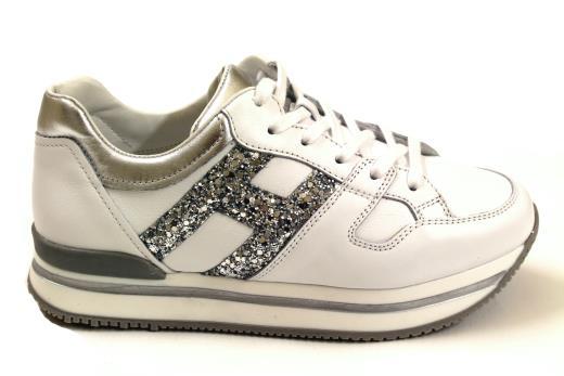 a1b43e484bdf7 Hogan Junior Sneaker hxc2220t541g9n