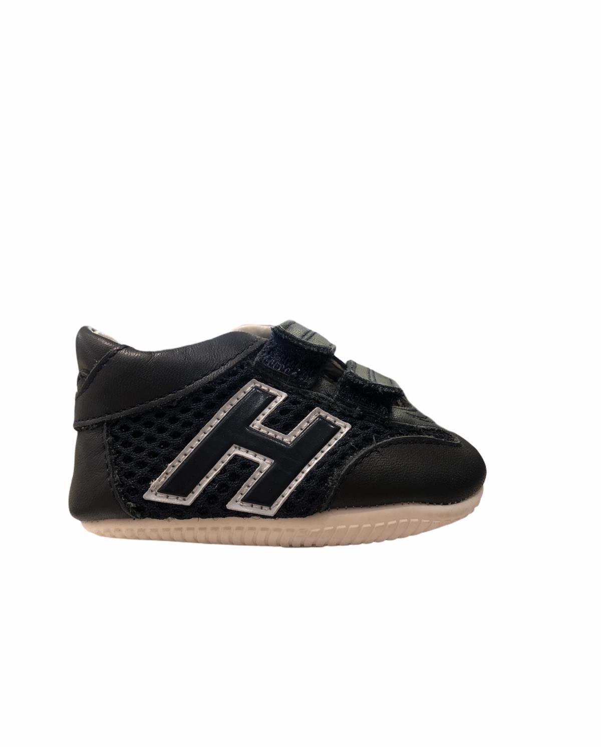 Sneakers Neonato Olympia Pelle Blu Hogan