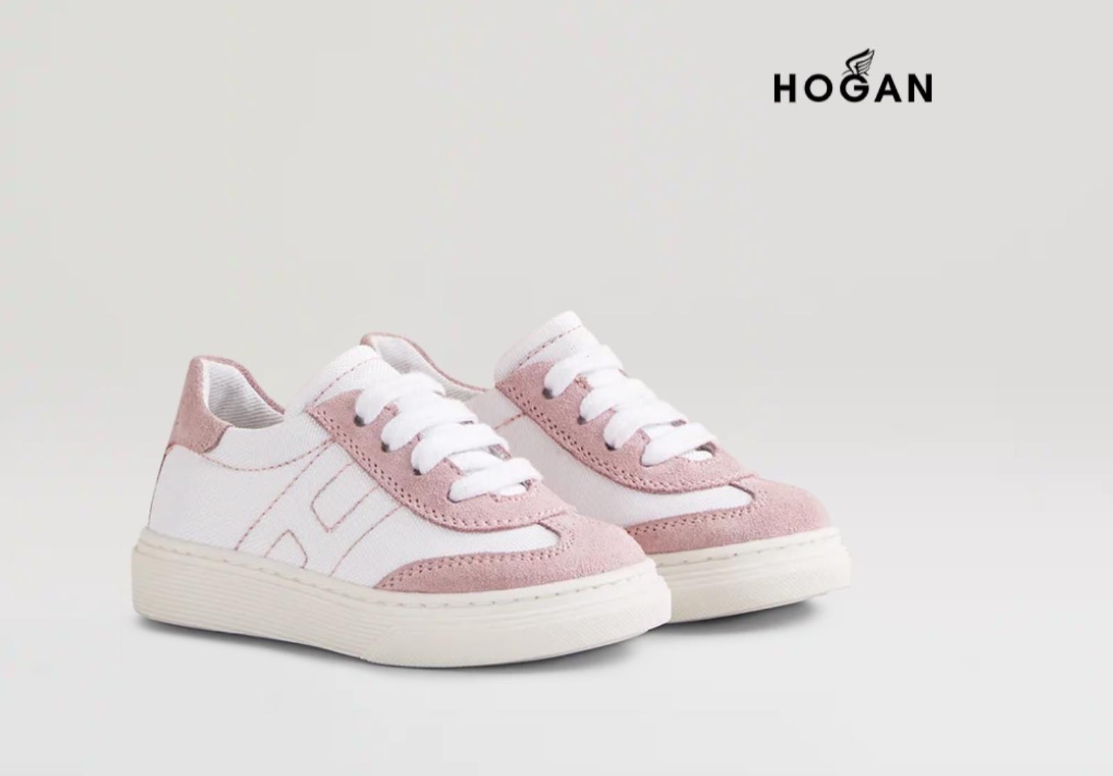 Sneakers Bambina H365 Rosa Hogan