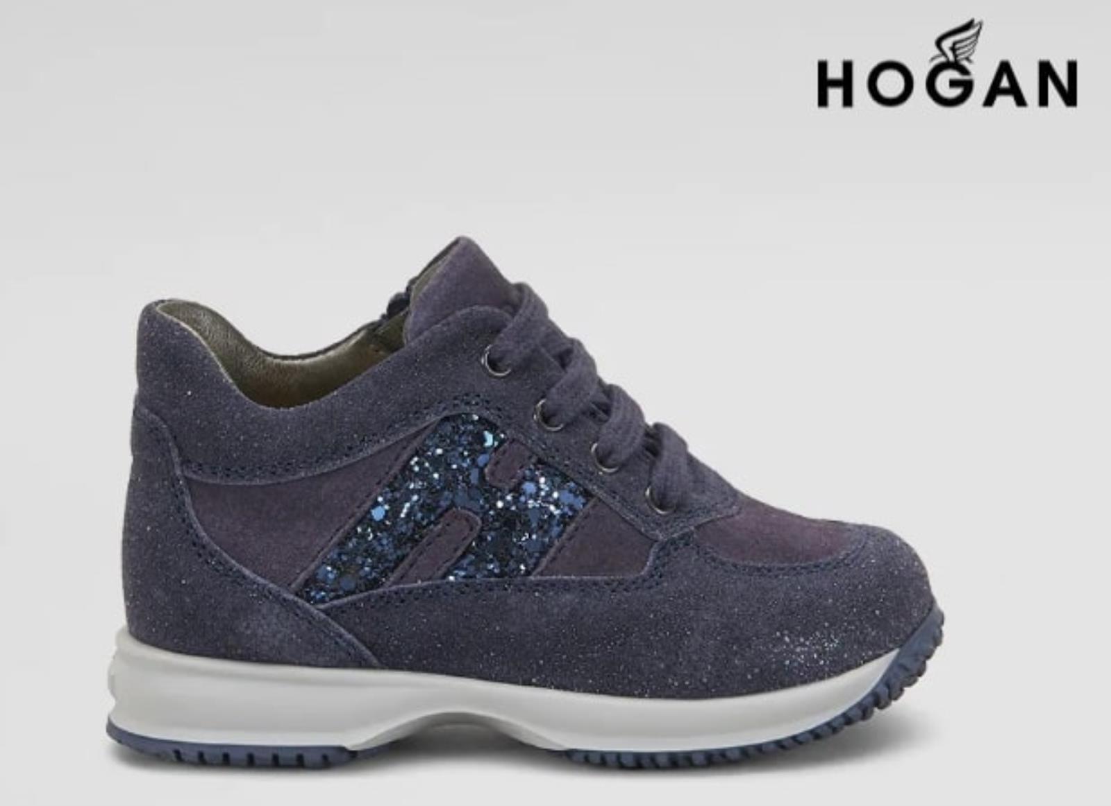 Hogan Sneakers Bambina Interactive In Pelle