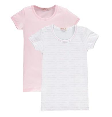 Brums Body Interlock Finta T-Shirt Manica Lunga Bimba