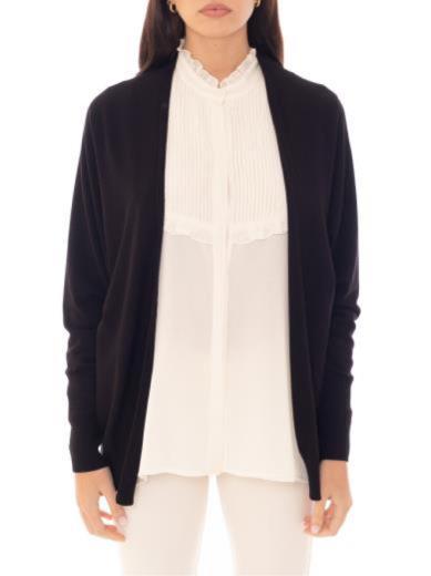 kontatto giacca kimono nero 3m5004
