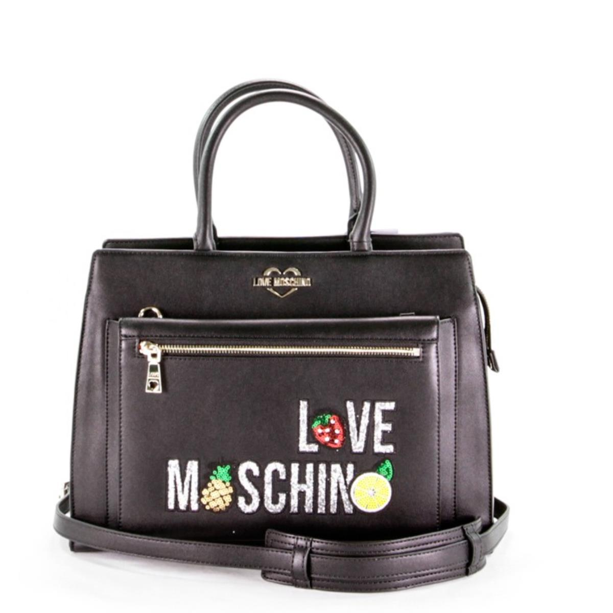 Love Moschino borsa a mano nera 4274
